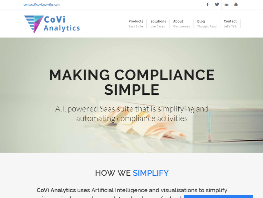 CoVi Analytics screenshot