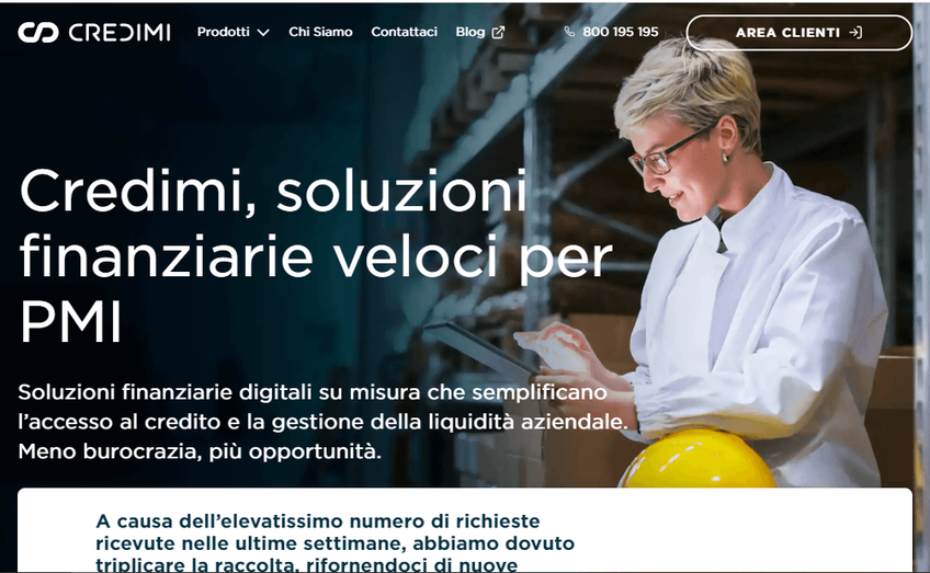 Credimi screenshot