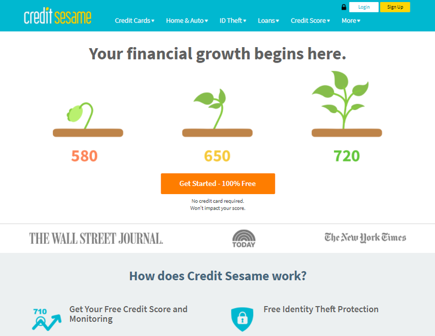 Credit Sesame screenshot