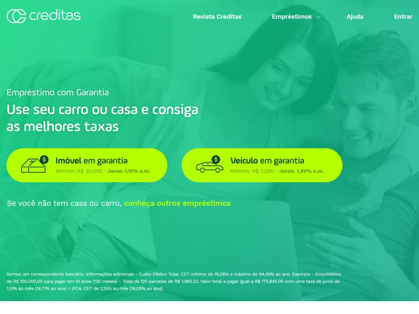 Creditas screenshot