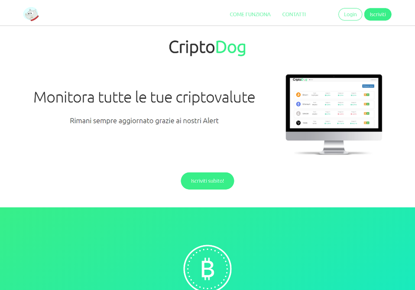 CriptoDog screenshot