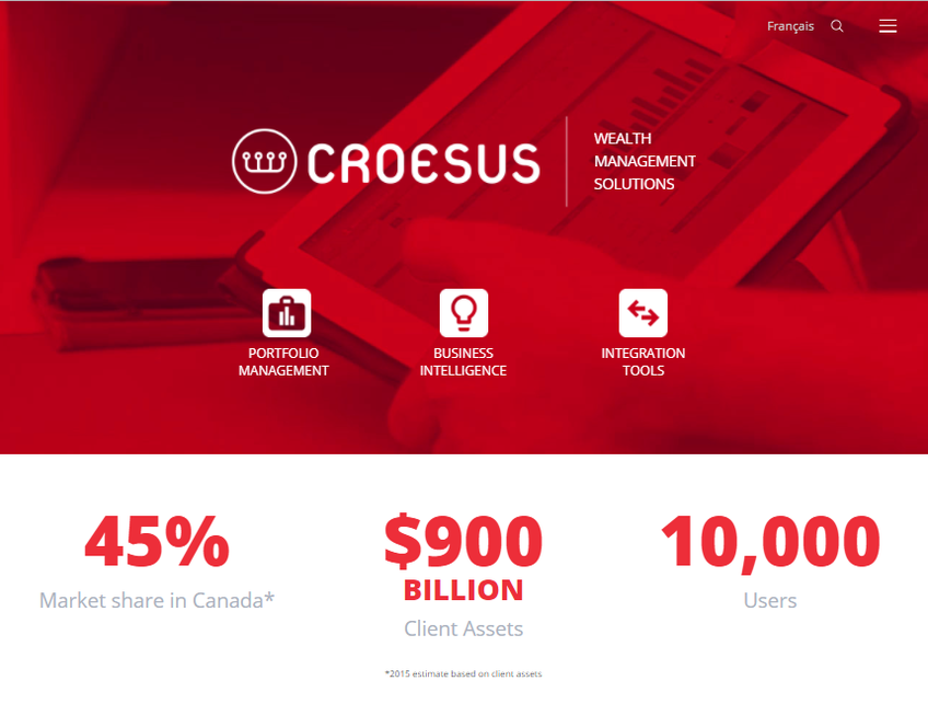 Croesus screenshot