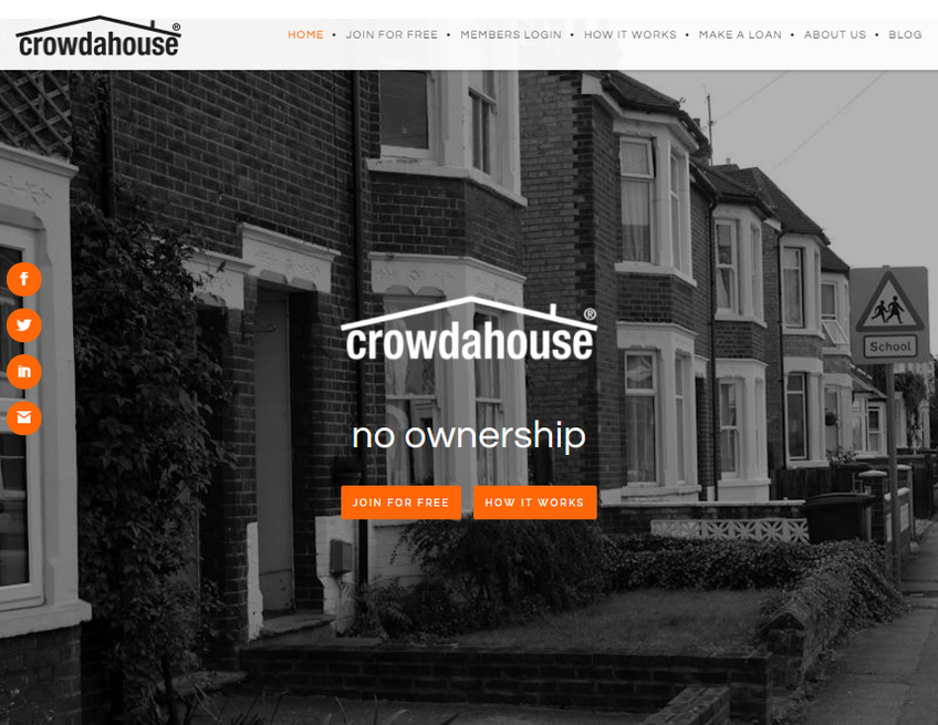 Crowdahouse screenshot