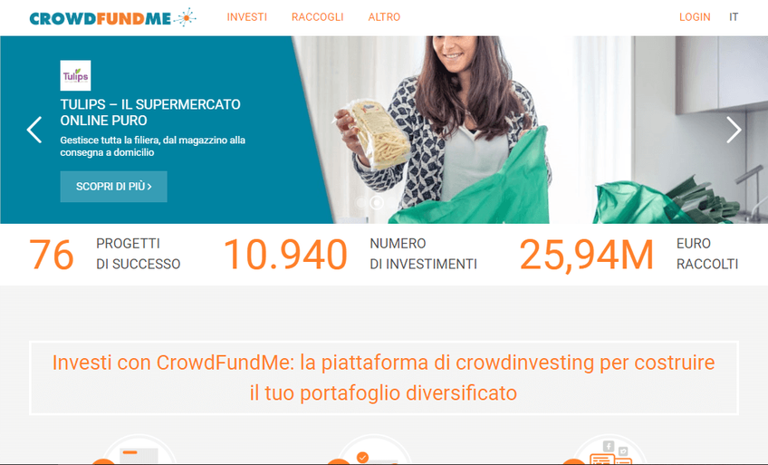 CrowdFundMe screenshot