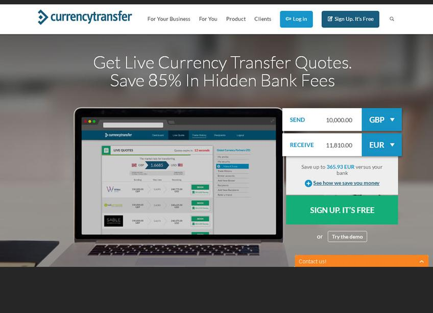 Currency Transfer screenshot