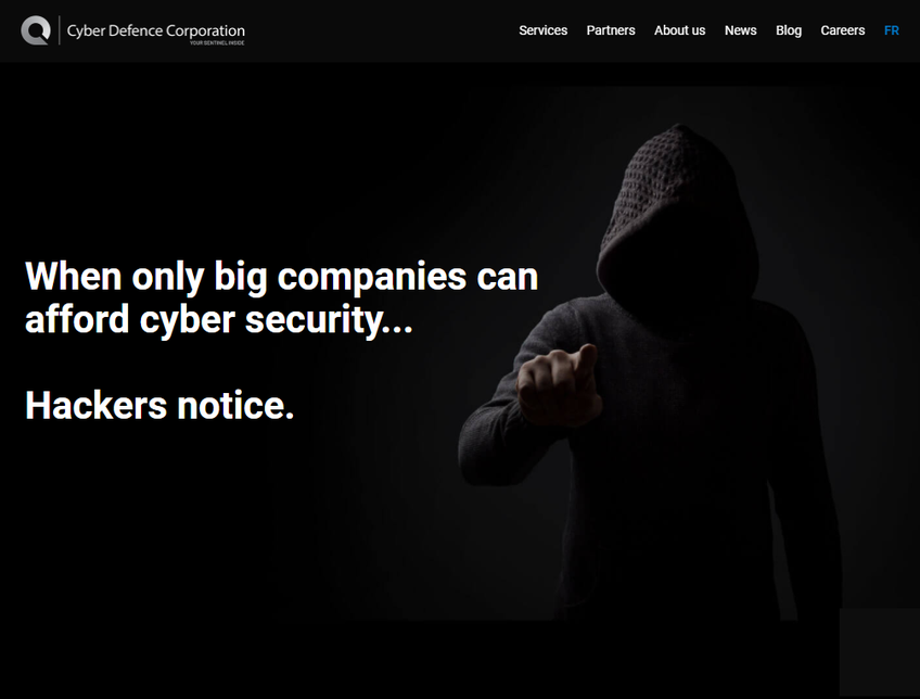 CYDEF - Cyber Defence Corporation screenshot