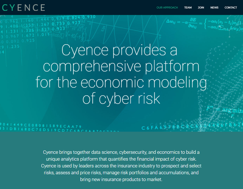 Cyence screenshot
