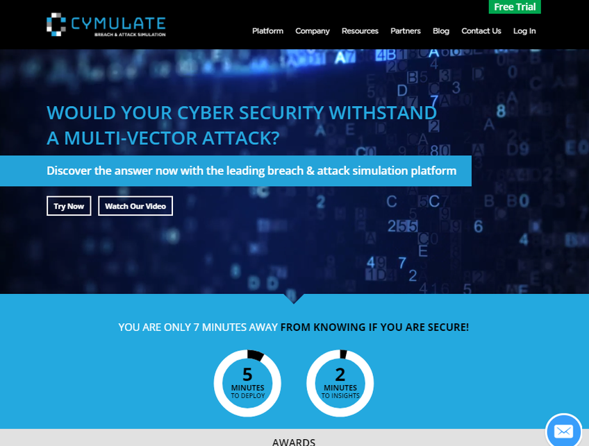 Cymulate screenshot