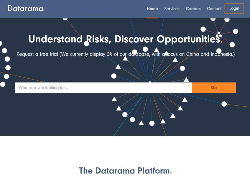 Datarama screenshot