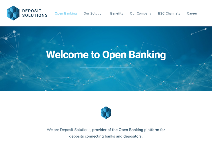 Deposit Solutions screenshot