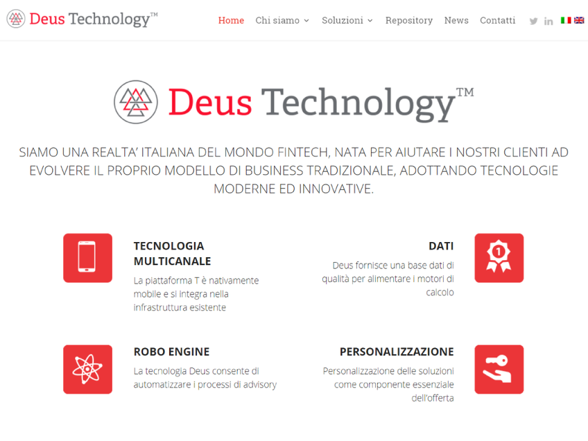 Deus Technology screenshot