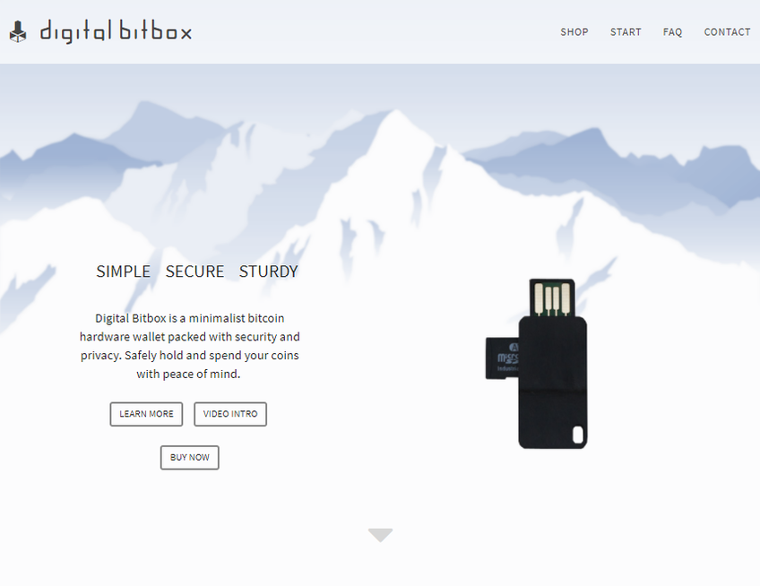 Digital Bitbox screenshot