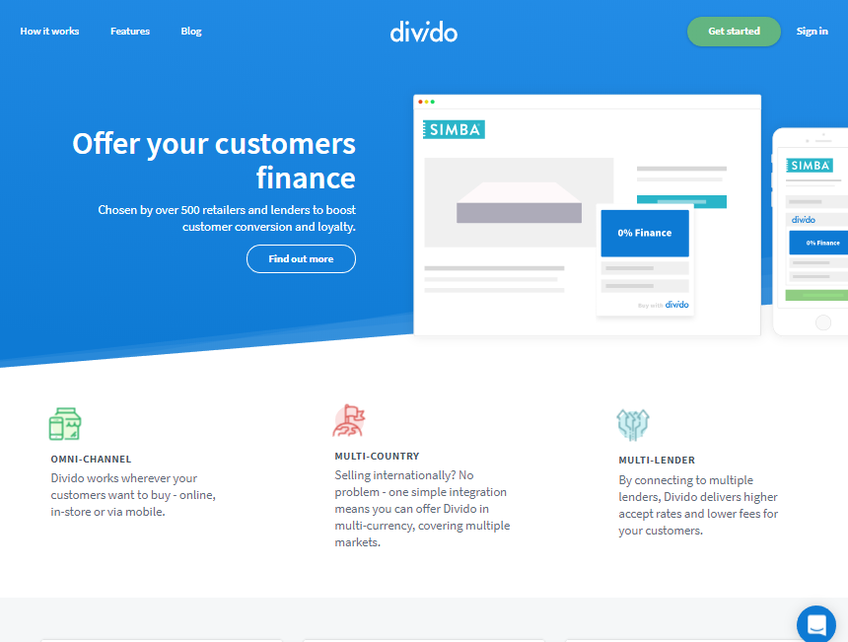 Divido screenshot