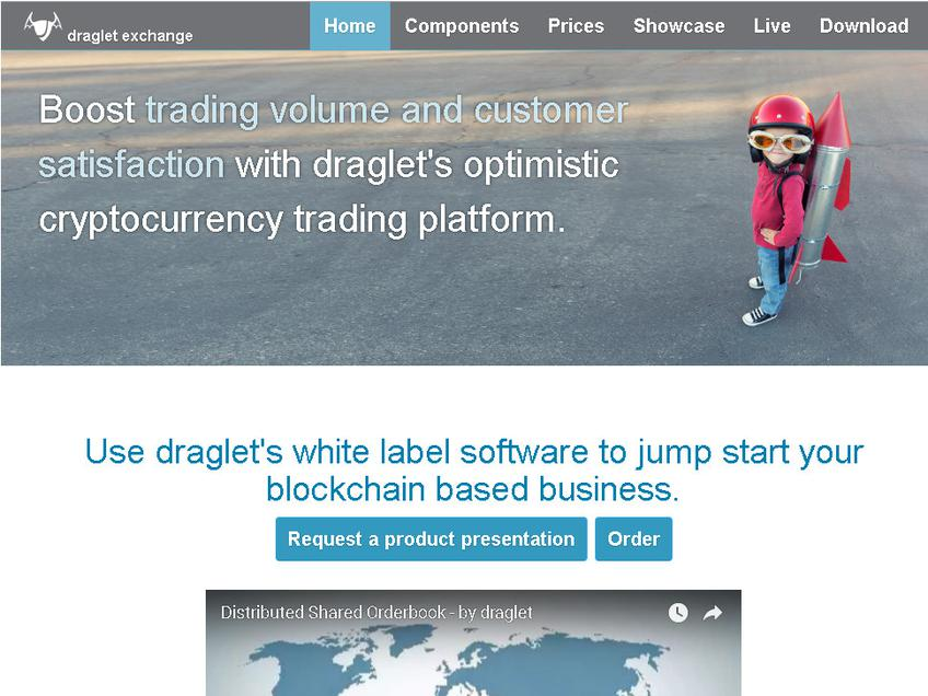 Draglet Exchange screenshot
