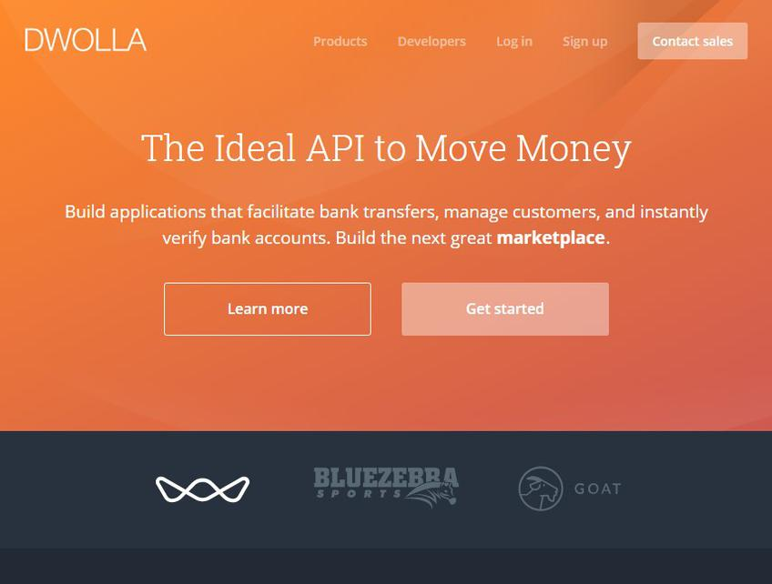 Dwolla screenshot
