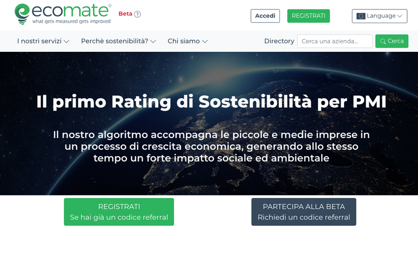 Ecomate screenshot