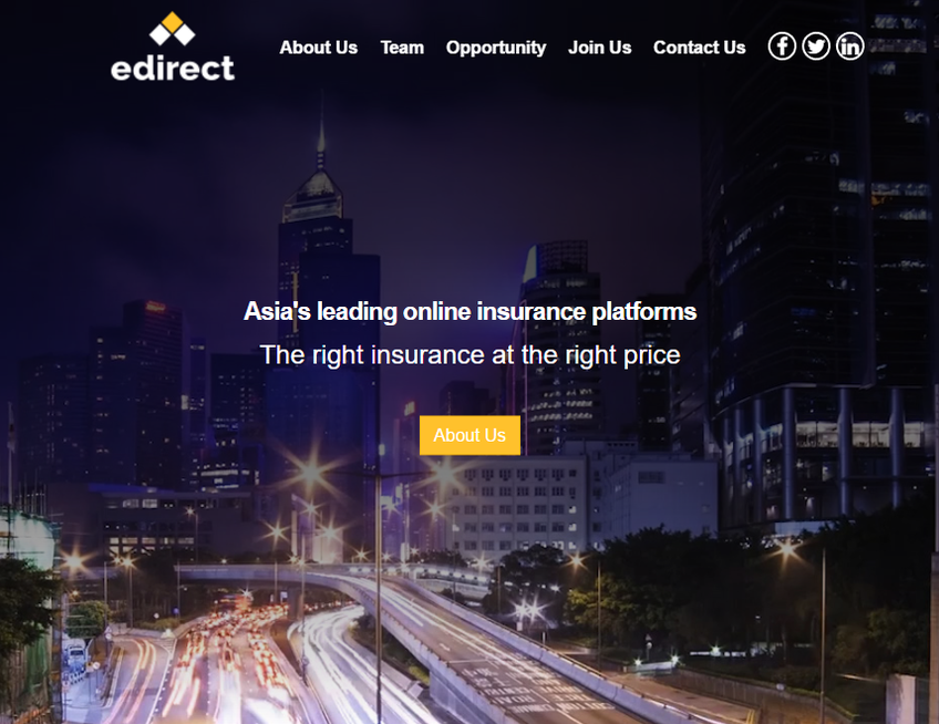 EdirectInsure screenshot