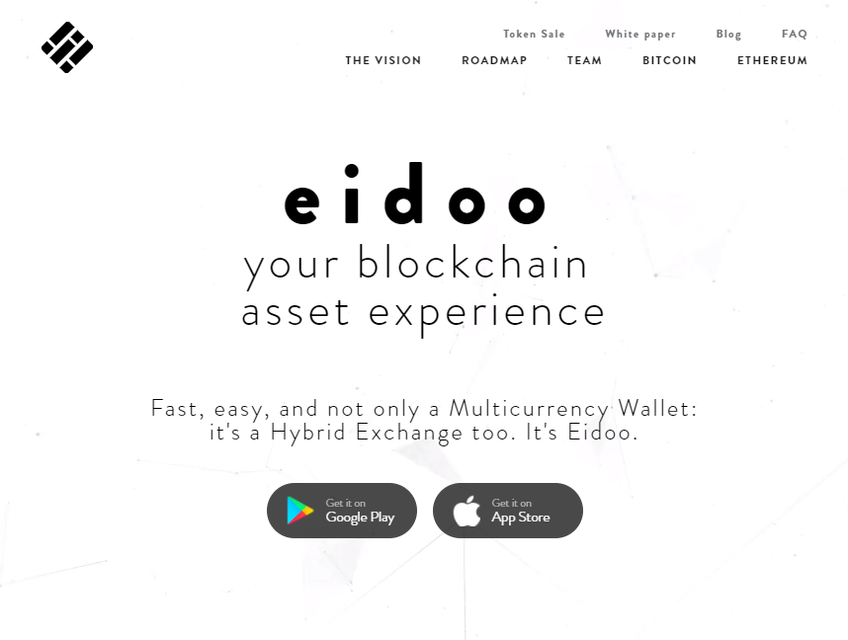 Eidoo screenshot