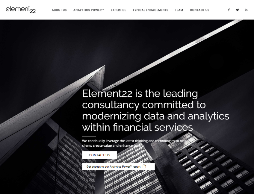 Element22 screenshot