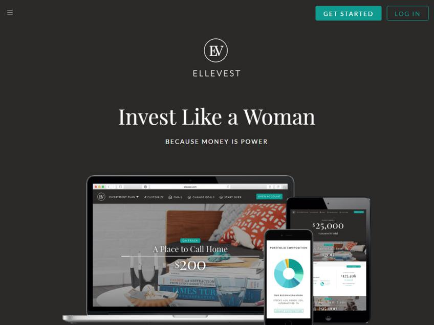 Ellevest screenshot