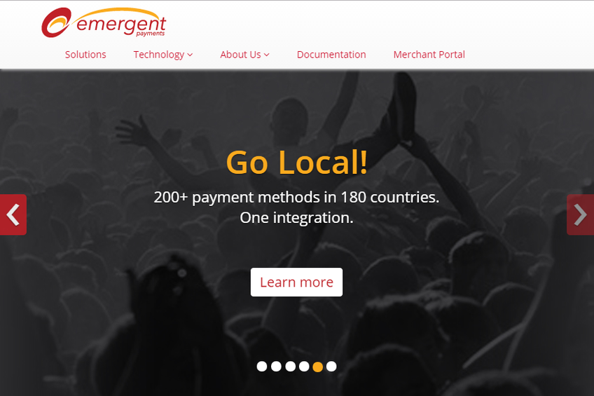 Emergent Payments screenshot