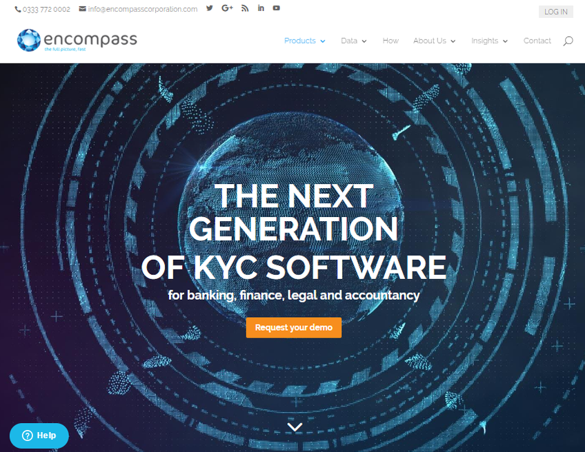 Encompass Corporation screenshot