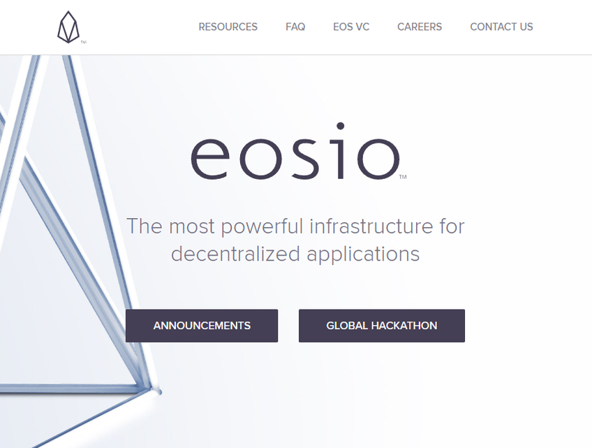 EOS.IO screenshot