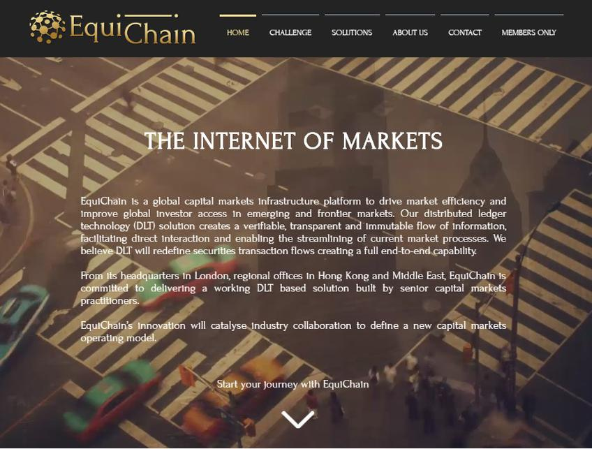 Equichain screenshot