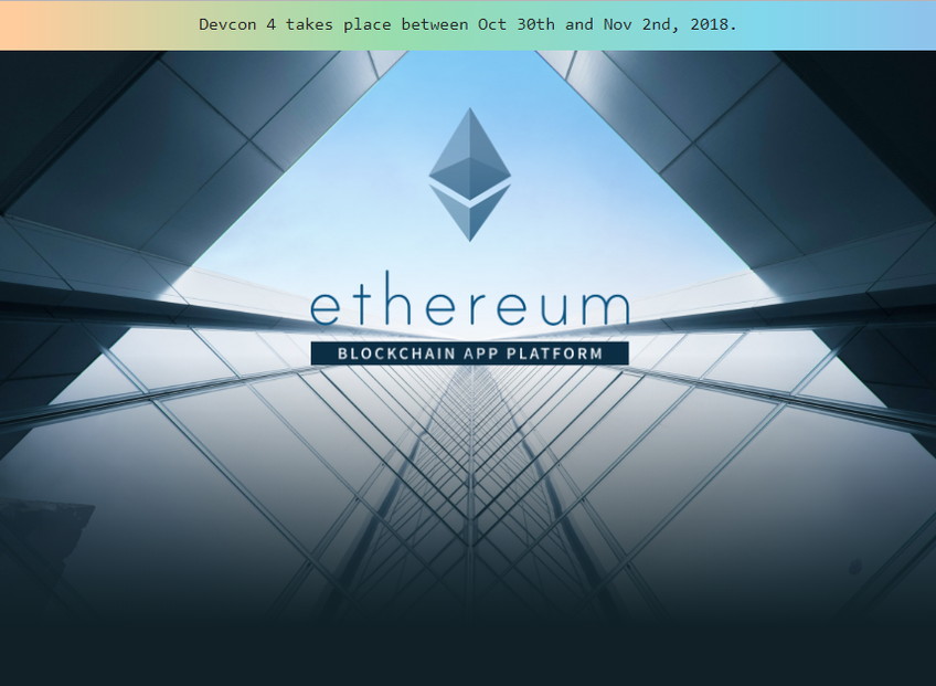 Ethereum screenshot