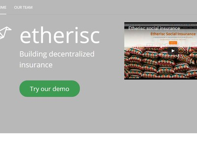 etherisc screenshot