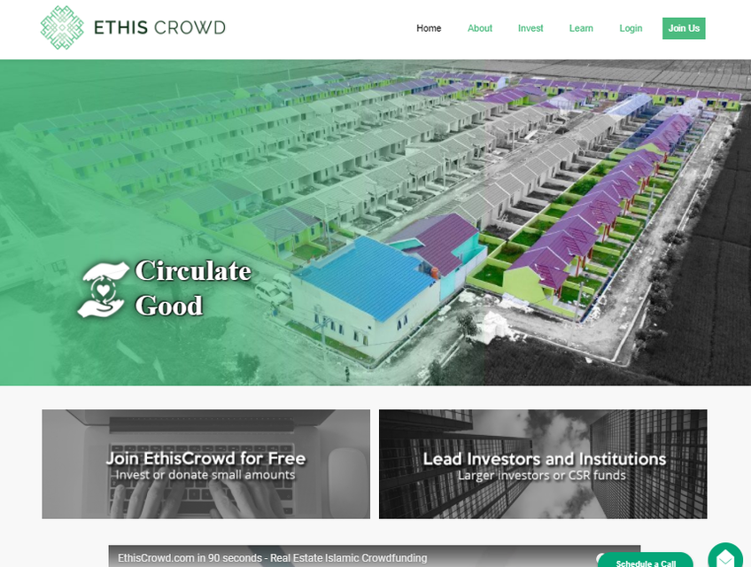 EthisCrowd screenshot