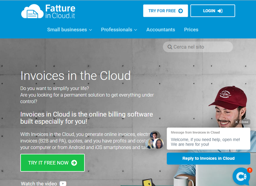Fatture In Cloud screenshot