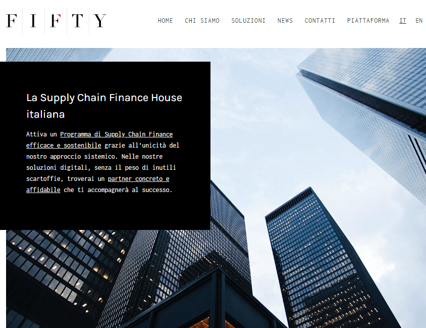 Fifty Finance screenshot