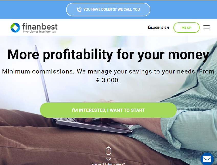 Finanbest screenshot