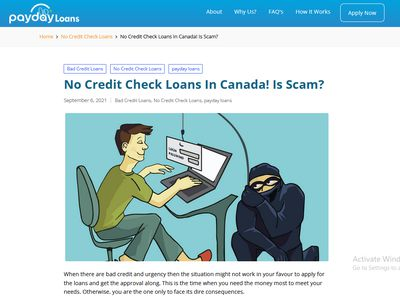 Find Safe and Legal No Credit Check Loans image