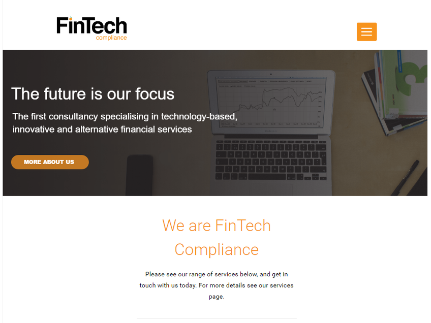 FinTech Compliance screenshot