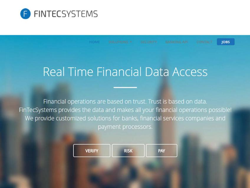 FintechSystems screenshot