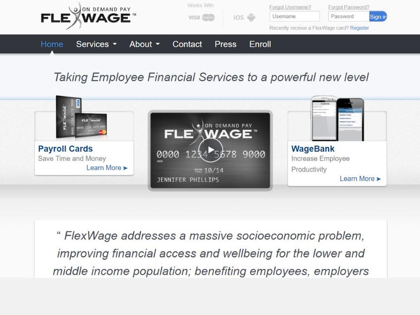 Flexwage screenshot