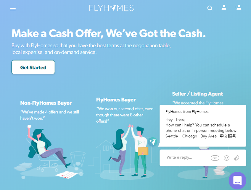 FlyHomes screenshot