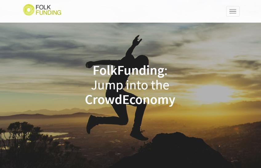 FolkFunding screenshot