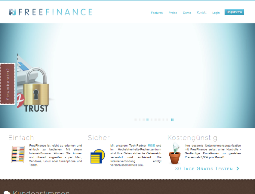 FreeFinance screenshot