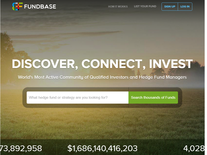 FundBase screenshot