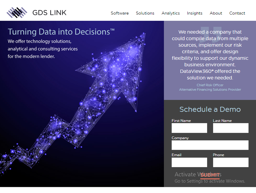 GDS Link screenshot