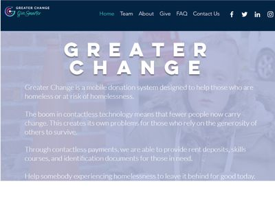 Greater Change image