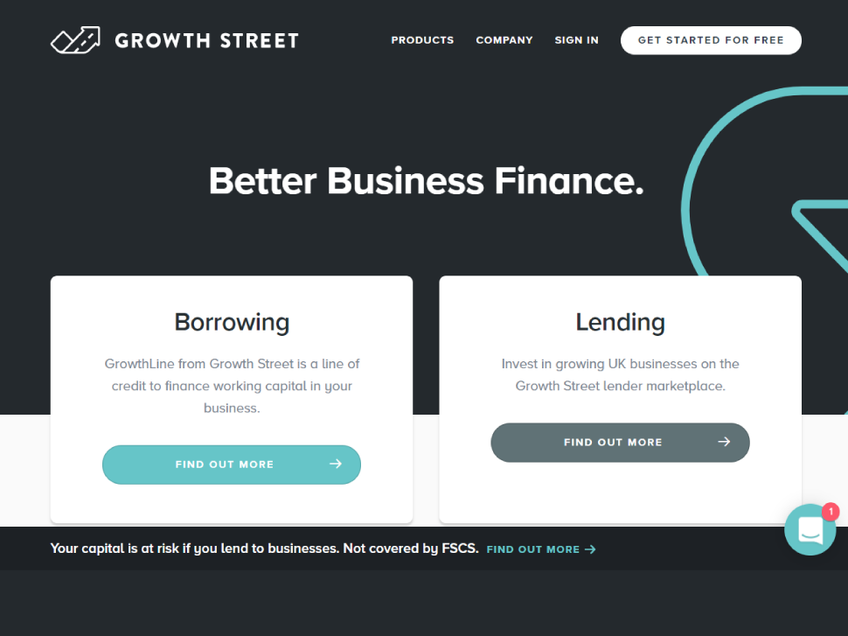 Growth Street screenshot