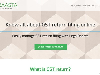 GST Return screenshot