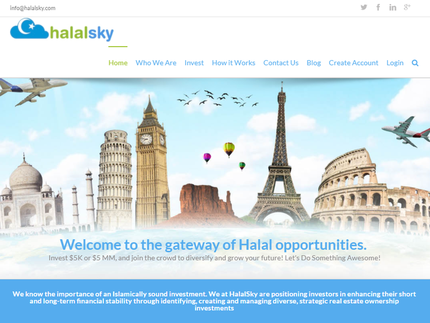 HalalSky screenshot
