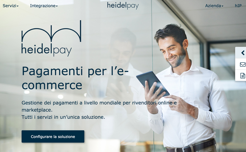 Heidelpay screenshot