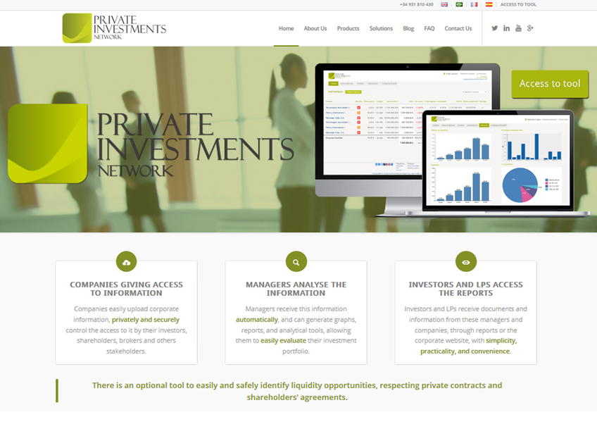 Private Investments Network screenshot