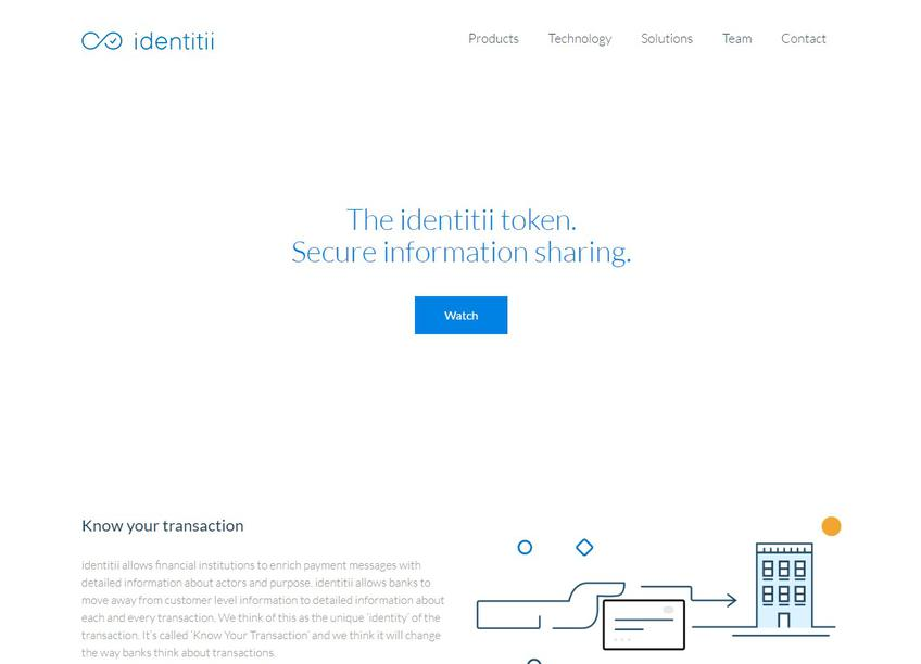 Identitii screenshot